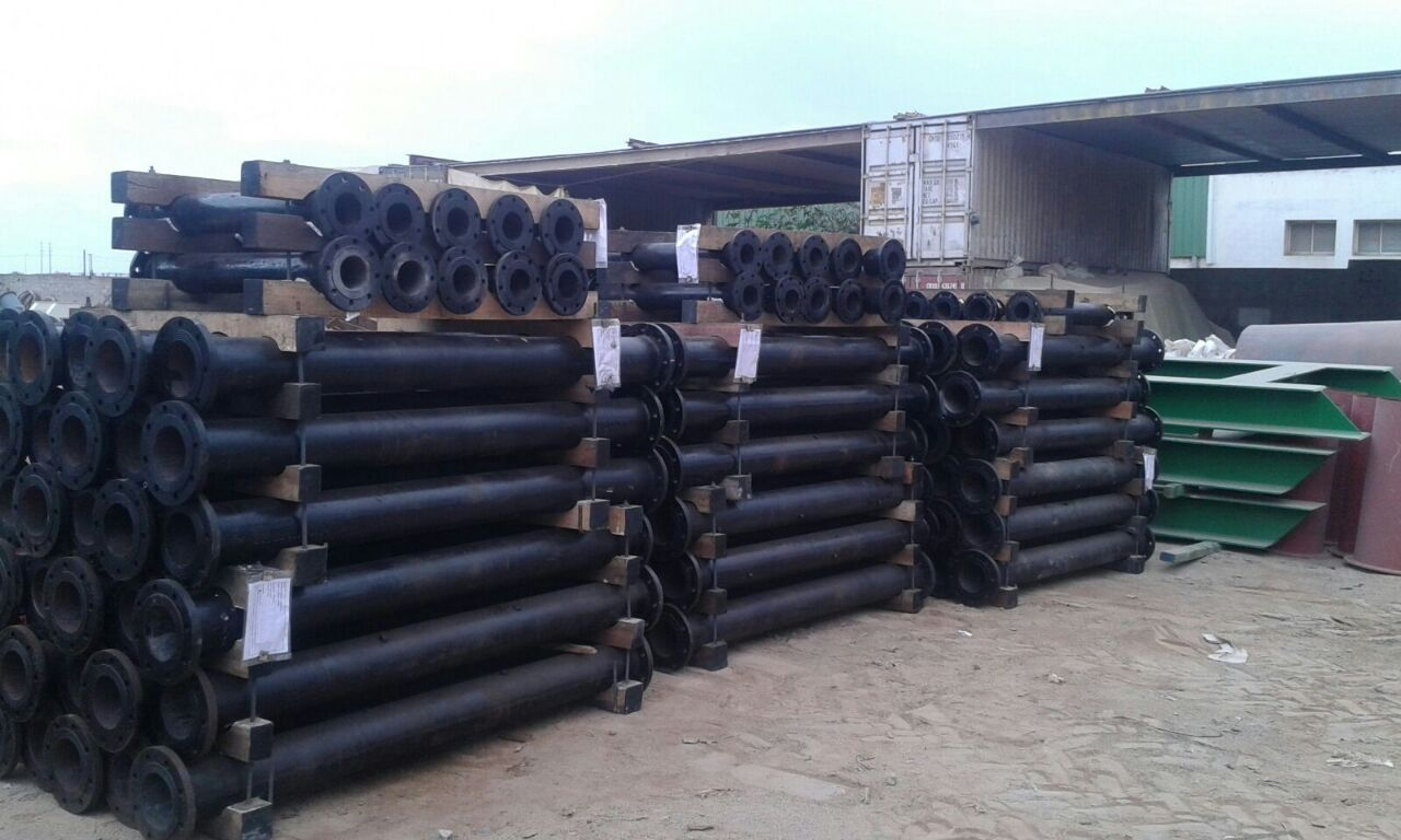 Flanged Pipes (Anticorrosion)